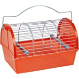 Penn-Plax Carrier for Small Animals & Birds - Small- Colors may vary