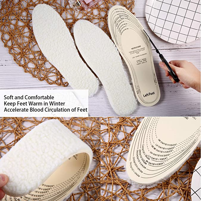 EXTRA THICK LUXURY INNER SOLES THICK FOAM FOR PAIN RELIEF UK SIZE 17 EURO 52 NEW