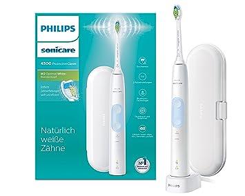 Philips Sonicare hx6839/28 Protect Ive Clean 4500 Cepillo de dientes eléctrico con tecnología de sonido (Sensor de presión), color blanco,: Amazon.es: Salud ...