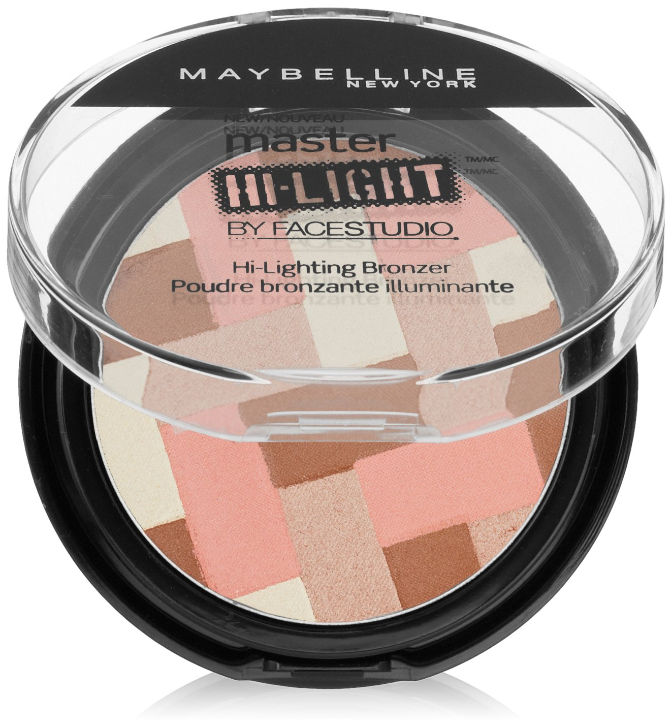 Maybelline New York Face Studio Master Hi-Light Bronzer, Light Bronze, 0.31 Ounce