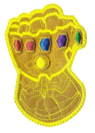 Infinity Gauntlet Stones Thanos Avengers Inspired Art Patch