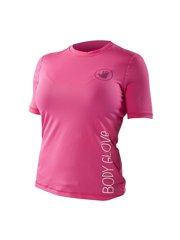Body Glove Women's Loose Fit Short Sleeve Rash Guard Tops Body Glove Wetsuit Co.