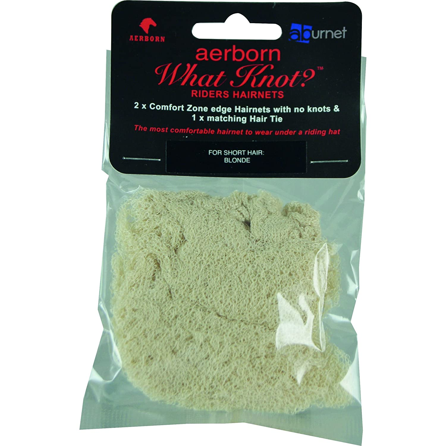 Aerborn What Knot Short Hair Hairnets (Pack Of 2) (One Size) (Blonde) UTTL108_2