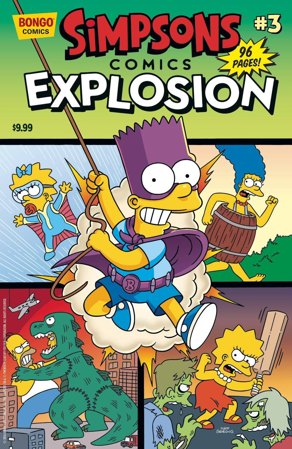 Download Simpsons Comics Explosion Issue 03 ebook
