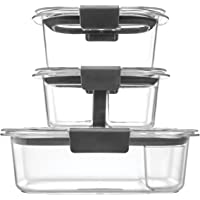Deals on Rubbermaid Brilliance Food Storage Containers 10 Piece