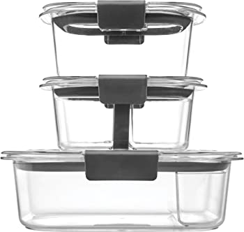 10-Piece Rubbermaid Brilliance Food Storage Container