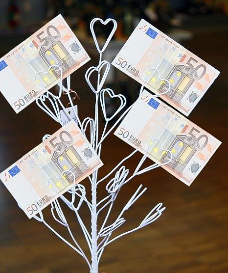 Geschenk mit geldscheinen dekorieren