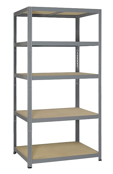 51 opinioni per AVASCO Strong 265- Scaffale in metallo/legno, per carichi pesanti, fissabile