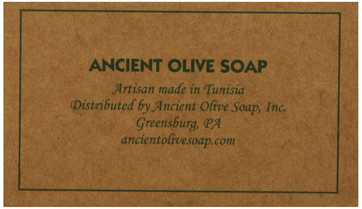Amazon.com : Ancient Olive Soap Classic Aleppo Style Soap Bar ...