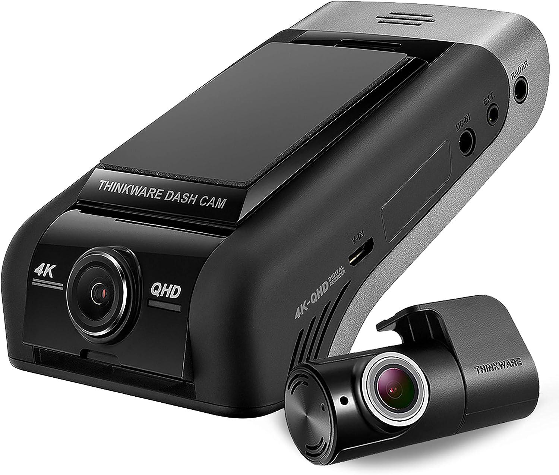 Thinkware U1000 4k Kamera 2160p Uhd Frontauto 2k Qhd Heck Dashcam Ultra High Definition Dash Kamera Mit Super Nachtsicht 64 Gb Sd Karte Festverdrahtetem Kabel Für Die Installation Android Ios App Auto