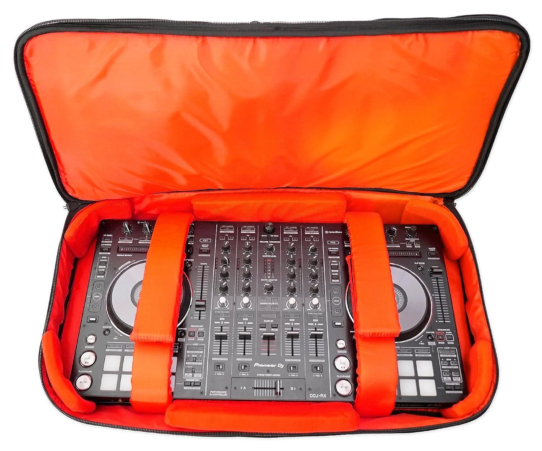 Rockville RDJB20 DJ Controller Travel Bag Case For Pioneer DDJ-SR/DDJ-SR2/DDJ-SX RDJB20 DDJ-SR