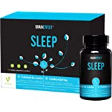BRAINEFFECT SLEEP | 1mg Melatonina por porción | 60 cápsulas | Ayuda natural para dormir |