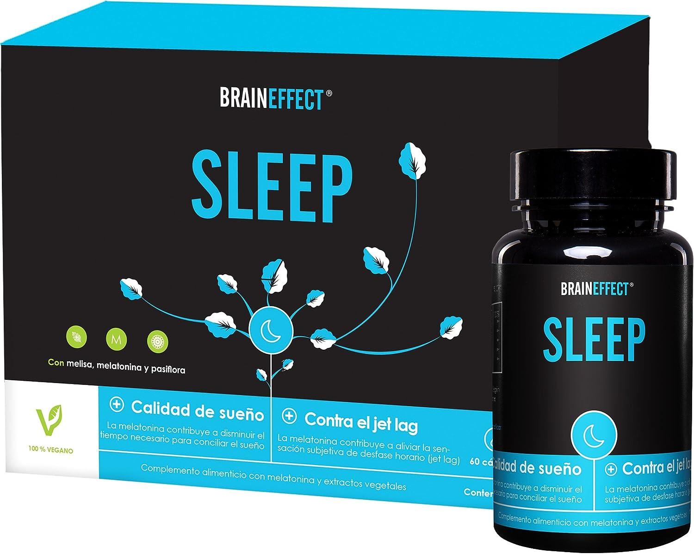 BRAINEFFECT SLEEP - 1mg Melatonina por porción - 60 cápsulas ...
