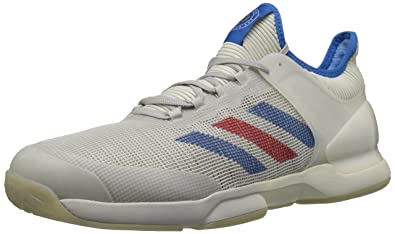 best service d4c27 20bb5 adidas Mens Adizero Ubersonic 50YRS LTD Tennis Shoe, LegacySignal BlueGrey  one