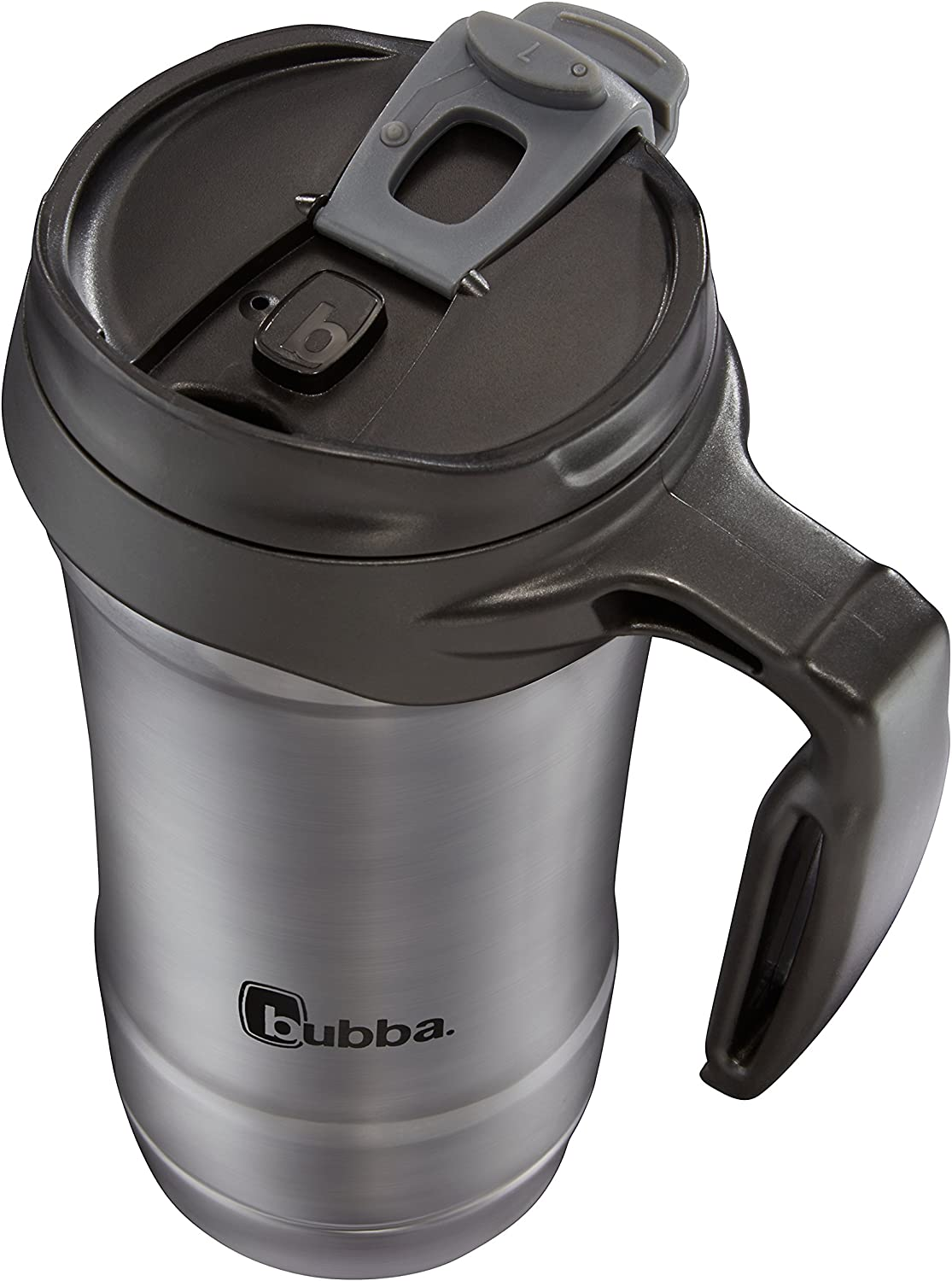 Bubba HERO Vacuum-Insulated Stainless Steel Travel Mug with Handle Gunme 18 oz