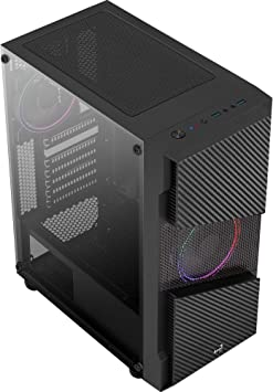 Aerocool Menace Saturn FRGB | ATX PC-Caja con Glasfenster: Amazon.es: Electrónica