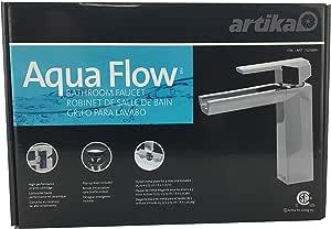 Artika Aqua Flow Open Spout Bathroom Sink Faucet: Amazon ...