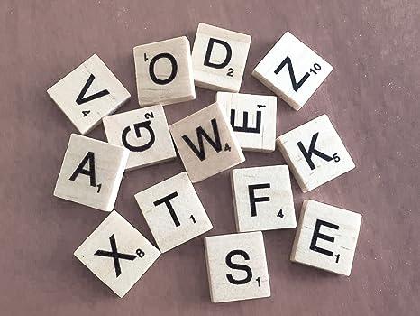 Pick n mix in legno scrabble piastrelle lettere set per giochi