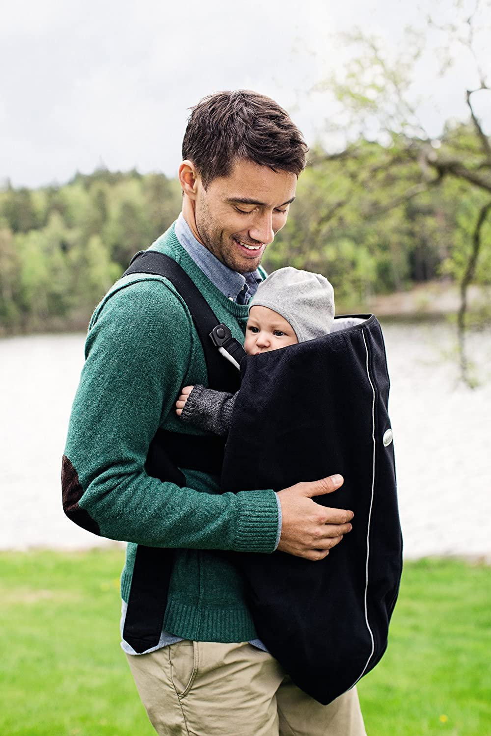 BABYBJORN Cover for Baby Carrier – Black