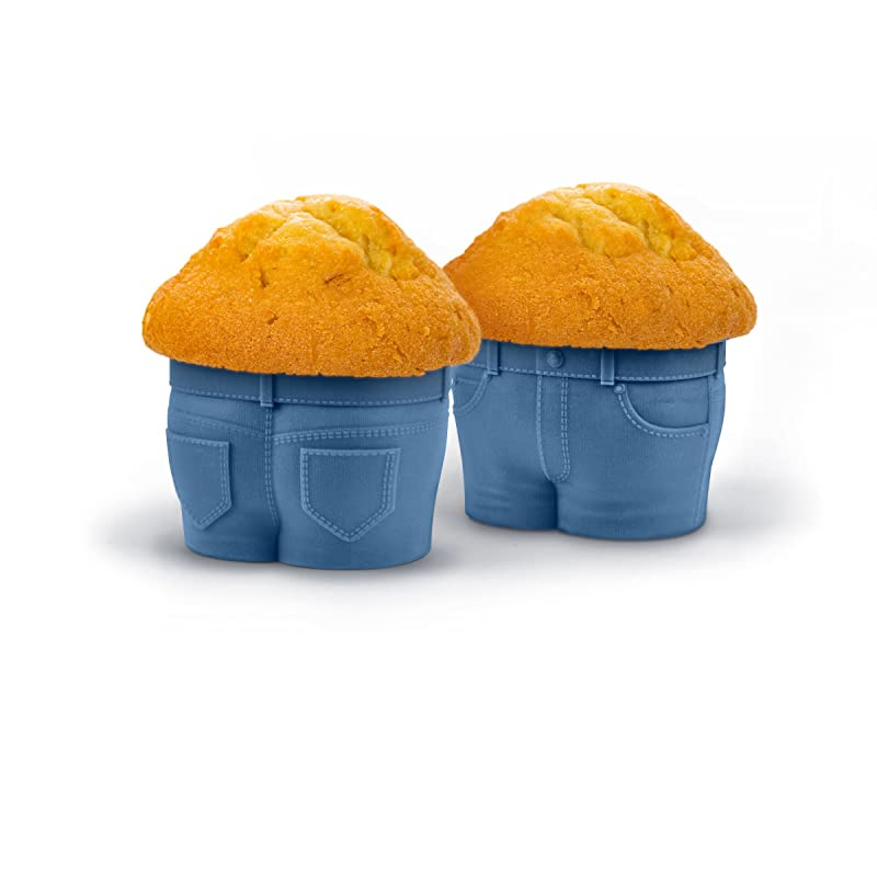Denim-Style MUFFIN TOPS