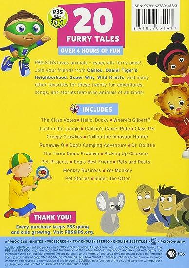 Amazon com: PBS KIDS: 20 Furry Tales DVD: n/a: Movies & TV