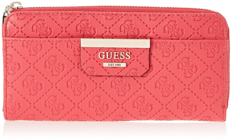 Guess - Bobbi, Carteras Mujer, Rojo (Red/Red), 21x10x2 cm (W x H L): Amazon.es: Zapatos y complementos