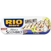 Rio Mare Filetti di Sgombro Grigliati al Naturale, Ricco di Omega 3-120 gr