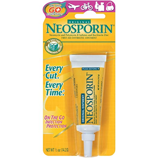 Neosporin First Aid Antibiotic Ointment, 0.5 Ounce