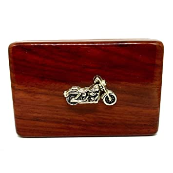Amazon motorcycle business card holder rosewood business motorcycle business card holder rosewood business card box reheart Images