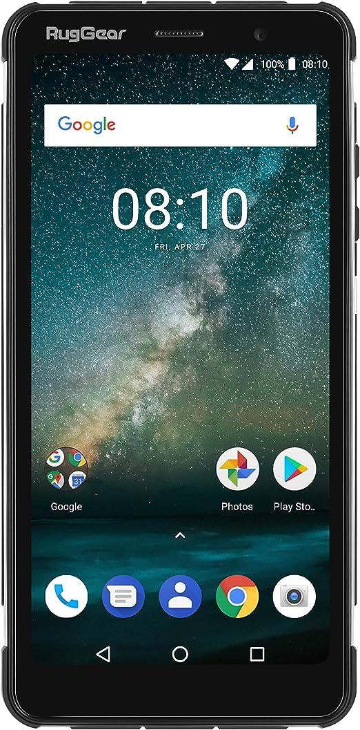 RugGear RG850 smartphone Android 8.1 delgado robusto a prueba de golpes con pantalla borde-a-borde de 6 pulgadas - doble SIM: Amazon.es: Electrónica