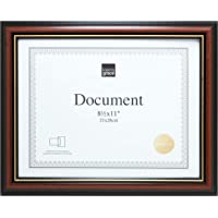kieragrace Traditional Document-Frames, Brown, Gold