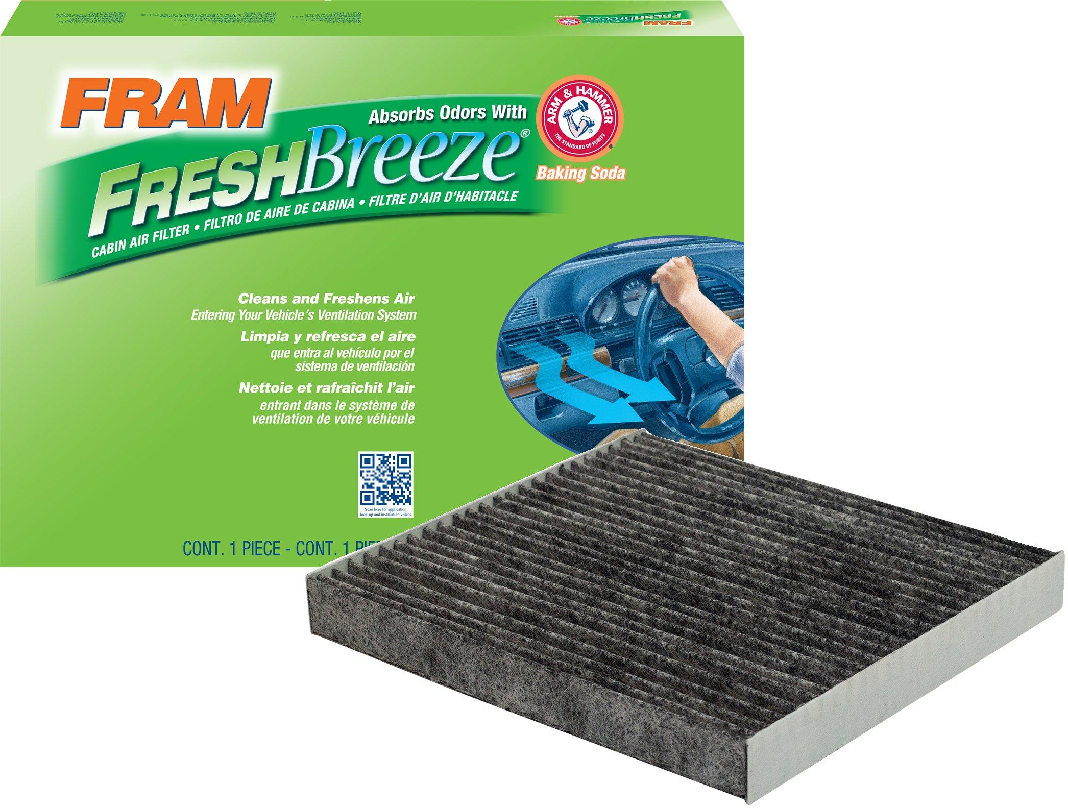 FRAM CF11671 Fresh Breeze Cabin Air Filter with Arm & Hammer