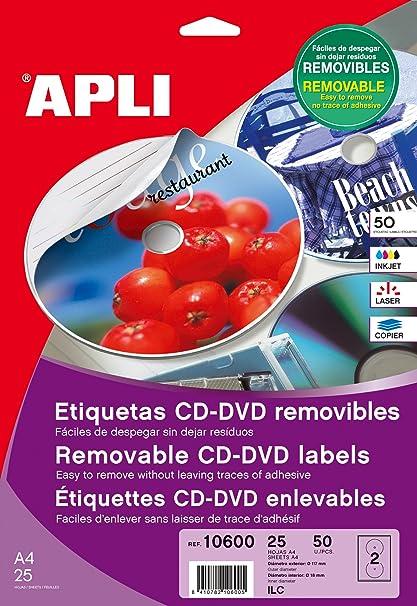 comprar etiquetas apli para dvd en amazon