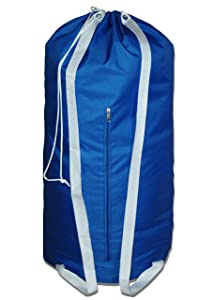 The Fine Living Company USA - Premium Grade Laundry Bag with 2 Strong Shoulder Straps - Large Size 36x24 Perfect for College Dorm | Backpack | Travel
