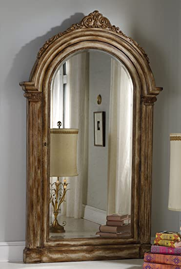Amazon.com: Hooker Furniture Melange Vera Floor Mirror with Jewelry ...