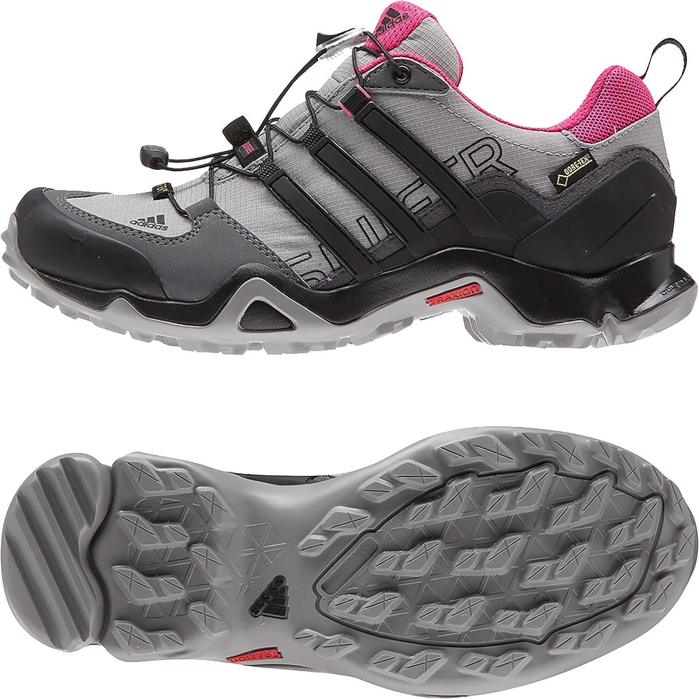 adidas Women's Terrex Swift R GTX Hiking Shoe B0116918ZE 10.5 B(M) US Granite/Black/Solid Grey