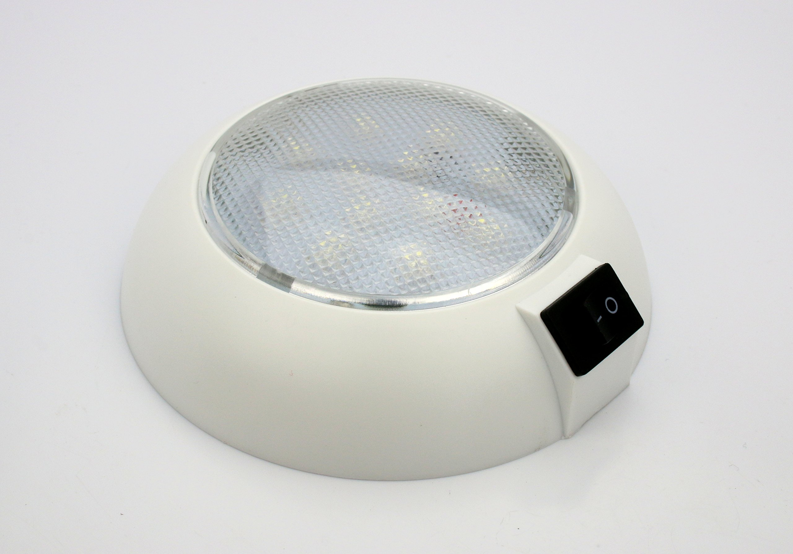 Pilotlights.net DL45BAT-WHT-CW Dome Light, White