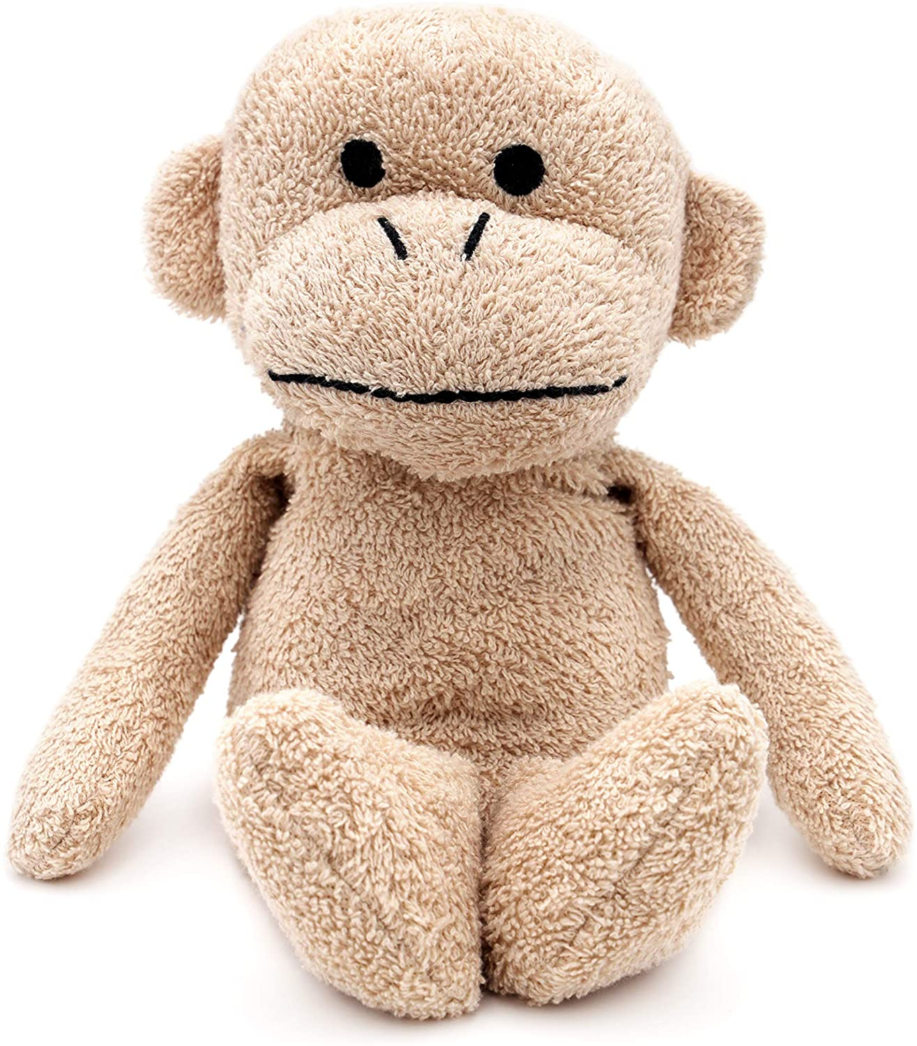 Thermal-Aid Zoo — Jo Jo the Monkey — Microwavable Stuffed Animal — Kids Hot and Cold Pain Relief