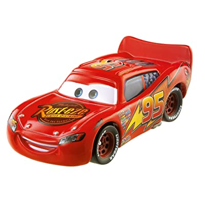 Disney Pixar Cars Die-cast Lightning McQueen Vehicle: Toys & Games