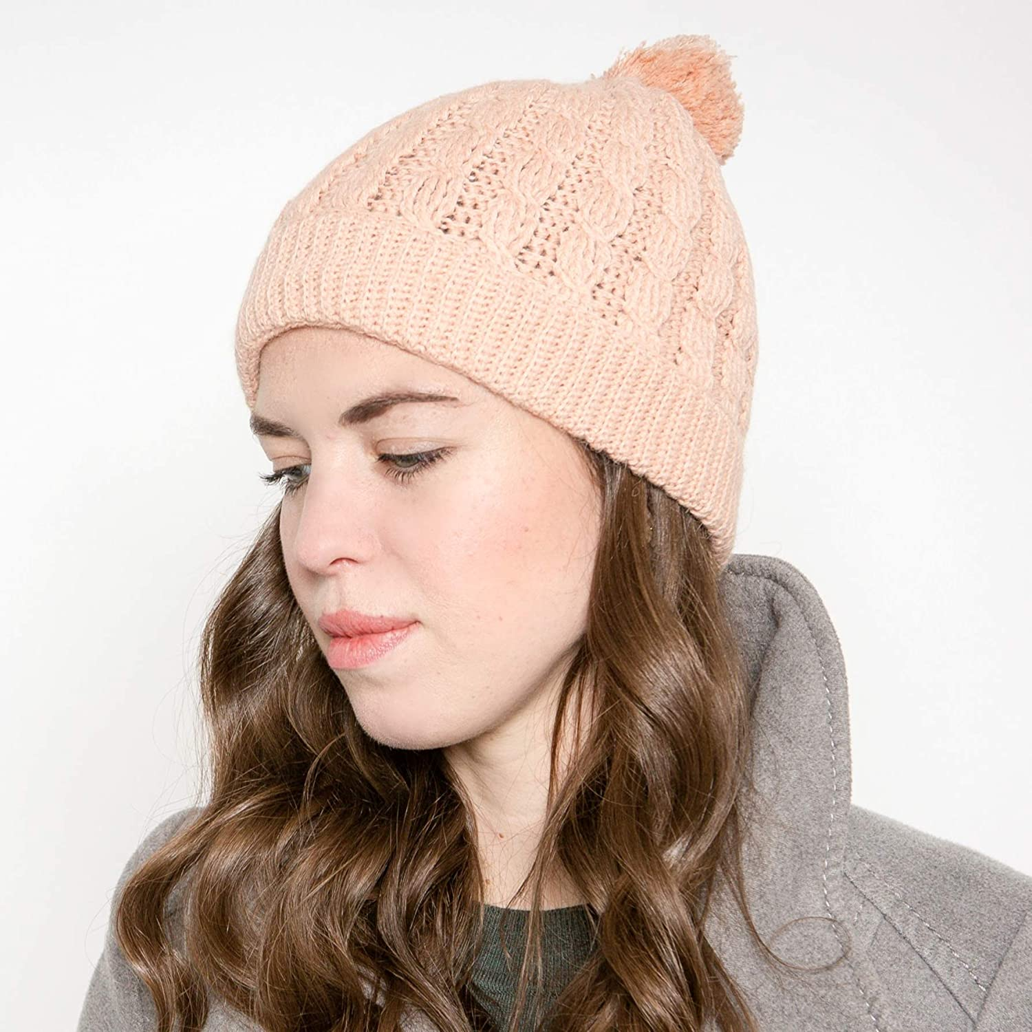 Knit Winter Hat Choose your Color Luxury Alpaca Hat Hand Knit Womens Beanie