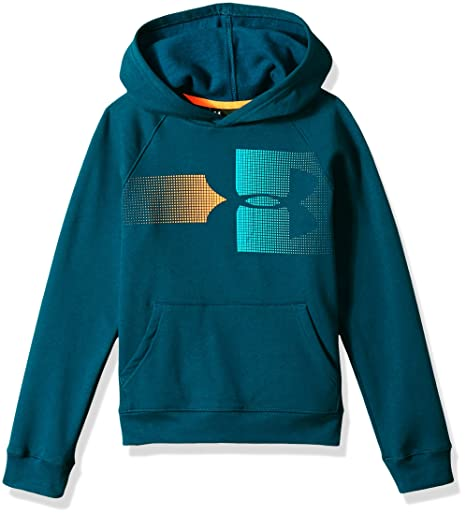 Under Armour Armour Fleece Hoody Felpa Bambino: Amazon.it