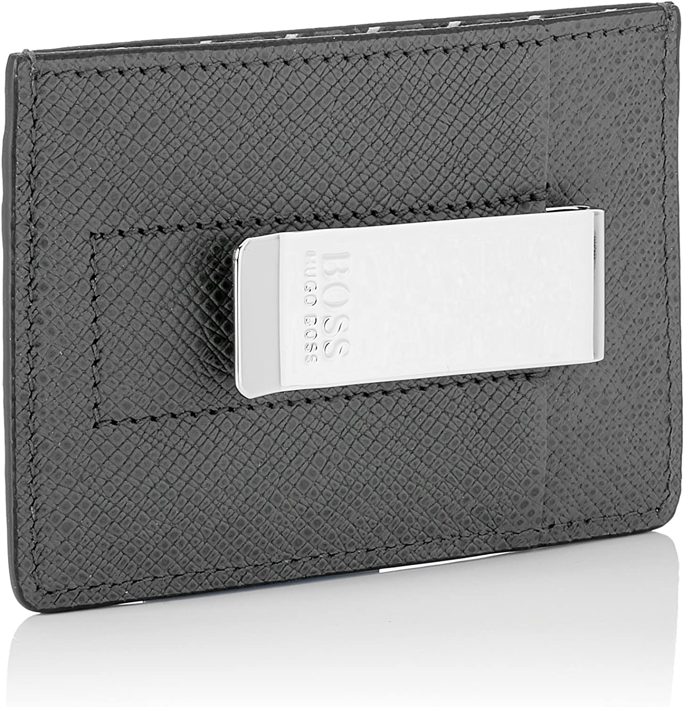 Men/'s Credit Card Case B x H T 1x7x10 cm BOSS Signature R/_money Cl Open Miscellaneous Multicolour