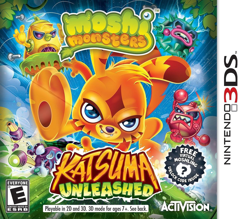 Amazon com: Moshi Monsters: Katsuma Unleashed - Nintendo 3DS