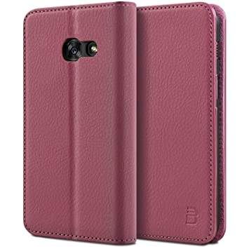 cheaper f6d46 75ae8 BEZ Case for Samsung A3 2017 Phone Case, Wallet Cover Compatible with  Samsung Galaxy A3 2017, Protective Leather Case with Credit Card Holders,  Kick ...