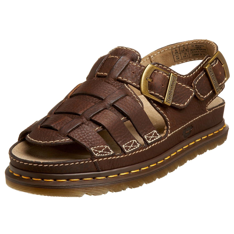 048b8da9b4b8a Dr. Martens Fisherman Sandal, Dark Brown Grizzly, 10 UK / 11 D(M) US:  Amazon.co.uk: Shoes & Bags