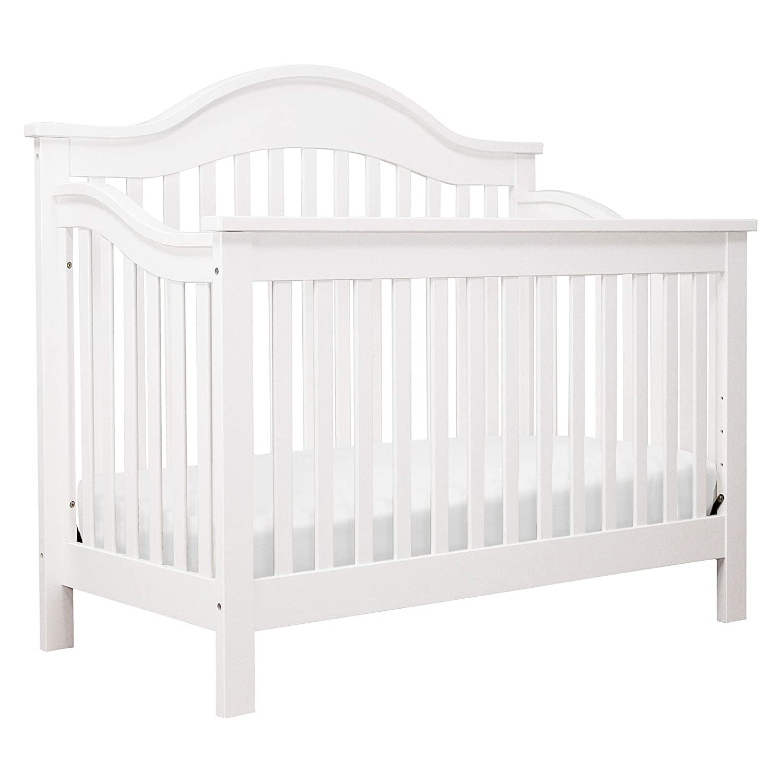 DaVinci Jayden 4-in-1 Convertible Crib in White Greenguard Gold Certified