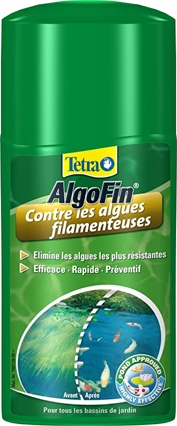 Tetra - 742208 - Pond AlgoFin* - 250 ml: Amazon.fr: Animalerie