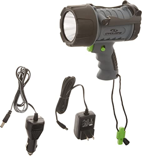 Cyclops 200 lm Waterproof Rechargeble Spotlight – Green LED