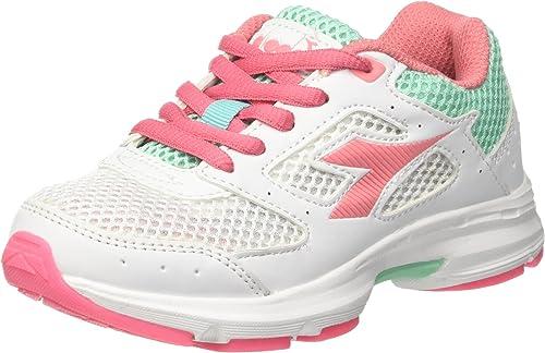 Diadora Shape 9 Jr, Zapatillas de Running para Niños, Blanco (Bianco Rosa Lady), 29 EU: Amazon.es: Zapatos y complementos