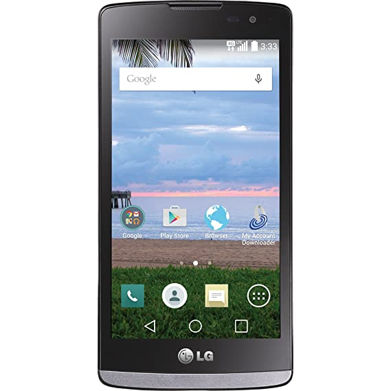 TracFone LG L33L Sunset 4G LTE Android Prepaid Smartphone